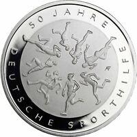 Deutschland 20 Euro Silbermünze 2017 Spiegelglanz 50 Jahre deutsche Sporthilfe