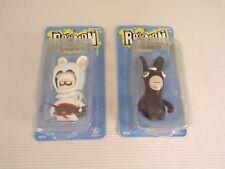 Raving Rabbits Assassins Creed and Splinter Cell Figures Rare Neca ubisoft