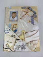 Track Treasured Memories Baby Milestone Keepsake Storage Box Moon /& Stars