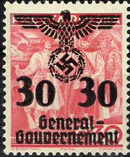 Germany Start of WW2 General Government Swastika Eagle 1939 G30 MLH