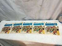 LOT of 5 Vintage GE Show'n Tell Disney Productions  Picture Sound Records