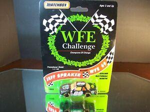 Jeff Spraker #69 WFE Challenge 1993 Chevrolet Lumina Matchbox 1:64 7,500 Made