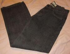 NEW~LEVIS LEVI STRAUSS 514 SLIM STRAIGHT BLACK WASH DENIM PANTS~SIZE 16 REG~NWOT