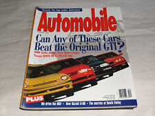 Automobile 1995 Car Magazine BMW 318ti Nissan 200SX SE-R VW GTI VR6 Dodge Neon