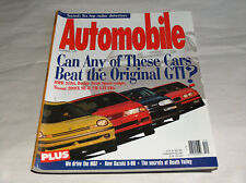 AUTOMOBILE 1995 Carrozze RIVISTA BMW 318ti NISSAN 200SX SE-R VW GTI VR6 DODGE