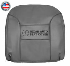 1995 1996 Chevy Silverado C/K 1500 LT, LS Driver Bottom Leather Seat Cover Gray
