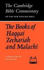 The Books of Haggai, Zechariah and Malachi by Mason, Rex