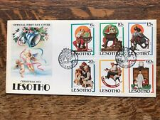 Lesotho 1981 Christmas First Day Cover