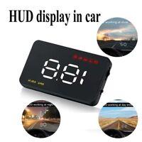 Speed Projector 3.5 Inch Head Up Dispay OBD 2  Universal  Car HUD Alarm System