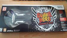 Guitar Hero : Warriors of Rock Wii Guitar Bundle