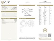 1.03 Carat Loose G / SI1 Round Brilliant Cut Diamond GIA Certified