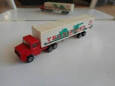 Majorette Magirus Truck + Trailer in Red/White