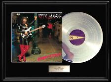 Rick James Street Songs White Gold Silver Platinum Tone Record Lp Album Non Riaa
