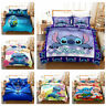 Lilo Stitch Kids Teens Bedding Set Duvet Cover Pillowcases Quilt Comforter Cover