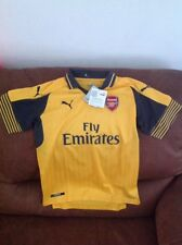Puma England Arsenal Fc Gunners Soccer/futbol  Jersey New With Tag Size L Youth