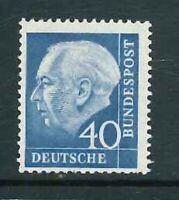 BRD Mi-Nr. 260x R - Rollenmarke mit Nummer - ** postfrisch