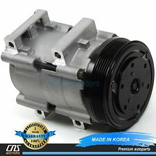 NEW A/C Compressor w/ Clutch 58146 for 95-04 Ford Lincoln Mercury 2.0L 3.0L 4.6L