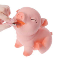 Coin Money Cash Pig Piggy Bank Openable Collectible Saving Box For Children