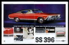 1968 Chevrolet Malibu Chevelle General Motors print car ad  gift 1969 1967 1970
