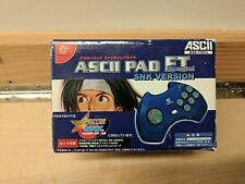ASCII PAD FT SPECIAL SNK VERSION - DREAMCAST - BRAND NEW IN BOX - FREE SHIPPING!