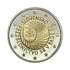 """Slovakia 2 Euro commemorative coin 2016 - """"EU presidency"""" - UNC"""