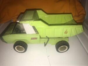 Vintage 1960's Buddy L Steel Dump Truck Creen