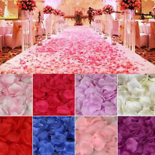 1000pc silk artificial rose petal wedding party confetti flower table decoration