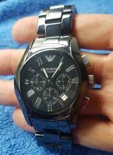 EMPORIO ARMANI AR1400 - Men's Ceramica Wrist Watch - Excellent Condition