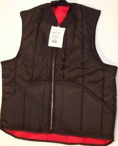 Work Vest - Quilt Lined - Black - #3004 - Full Fit - USA - Regular | BIG | TALL