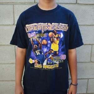 Vintage 2000 Lakers Time Kobe And Shaq Basketball T Shirt Vintage Men Gift Tee