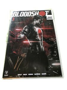 Bloodshot #1 NM SIGNED By BOSSLOGIC PLANET AWESOME NYCC / Limited To 250❤💣