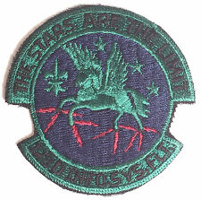 U.S.A.F. 123 Information Systems Military Embroidered Patch MOD Approved