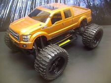 Ford F-250 2011 Custom Paint 4X4 PRO BRUSHLESS 1/10 RC Monster Truck Waterproof