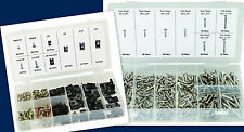 490 PC KIT INCLUDES 320 STAINLESS STEEL SCREWS & 170 U-CLIP & SCREW ASSORTMENT