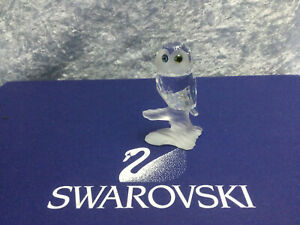 Swarovski Crystal Owl (Up in the Trees) - 7621000003 / 119442. Retired 1992. MIB
