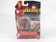 "Marvel Universe Iron Man Power Assault Armor 04 Movie Series 4"" Figure MOSC New"
