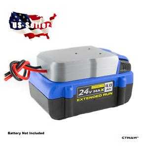 **Kobalt 24V MAX Li-ion Battery Adapter RC Robotics Power Output Connector DIY**