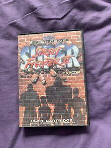 Super Street Fighter II on Sega Mega Drive boxed no instructions