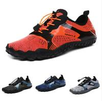 Water Shoes Men Swimming Flats Breathable Sport Trail Sneaker Comfort Athletic