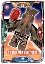 122-Poggle el Menor-Lego Star Wars tarjetas de colección serie 1