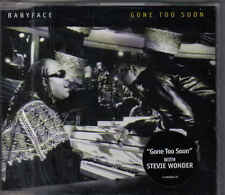 Stevie Wonder with Babyface-Gone To Soon Promo cd single
