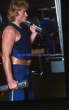 JOHNNY HALLYDAY 80s DIAPOSITIVE DE PRESSE ORIGINAL VINTAGE SLIDE #53