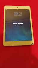 Apple iPad Mini 2 , A1489 Wi-Fi, 7.9in Tablet. Cracked Screen, With Passcode