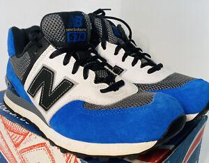 NIB New Balance M574JBG Blue Black White Gold Colorway Men's size 9 U.S.