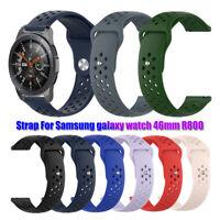 22mm Soft Silicone Watch Band Sport Strap for Samsung galaxy watch 46mm R800