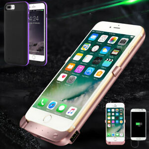 Portable Power Bank Back Pack Battery Charger Case Cover For iPhone 6 6s 7 8Plus