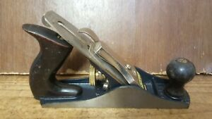 Vintage Stanley Bailey No 3C Corrugated Wood Plane, Made in USA