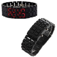 LED Digital Samurai Lava Wrist Watch Plastic Sports Style Mens Womens Unisex PY