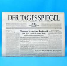 Der Tagesspiegel 26.11.1958 - Geschenk zum Geburtstag Hochzeitstag November 1958