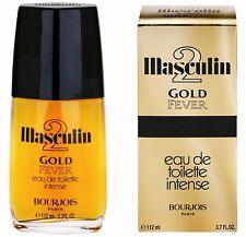MASCULIN 2 GOLD FEVER BOURJOIS 112 ml VERY RARE RARITAT PROMOTION !!!